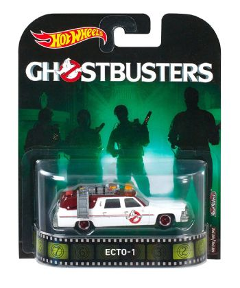 Hotwheels Ghostbusters Ecto-1 1.64 Scale Diecast